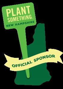 Official Sponsor Plant Something NH logo