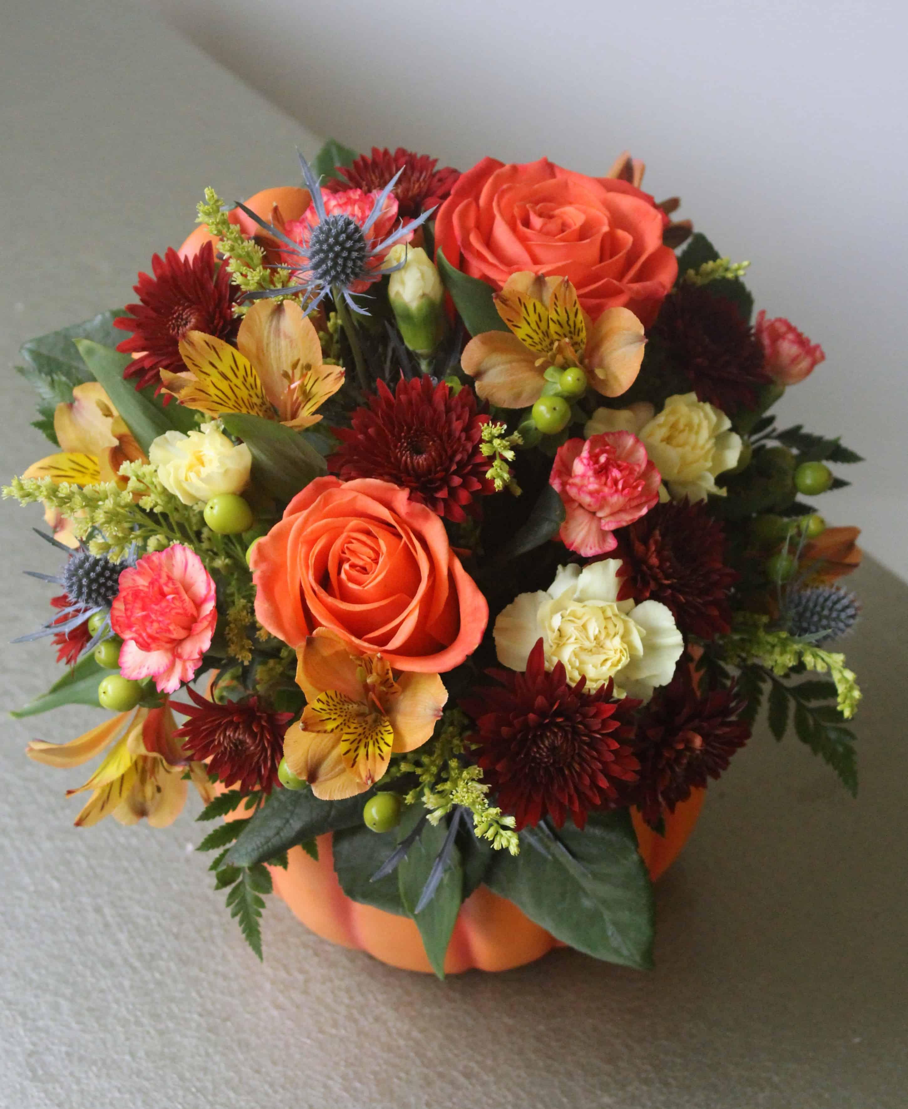 pumpkin spice bouquet by studley u0027s studley u0027s flower gardens