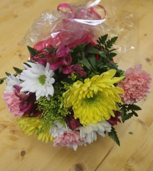 pastel blossoms presentation