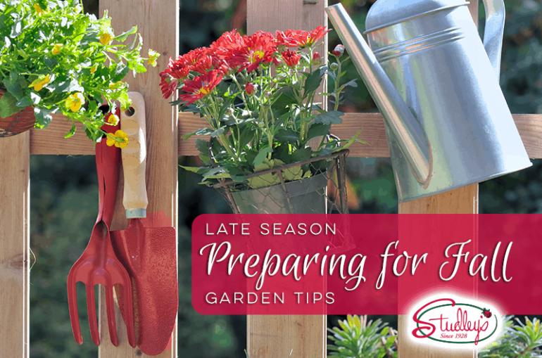 Late Season   Preparing For Fall Garden Tips