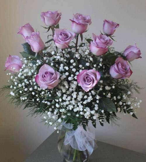 Classic Lavender Roses